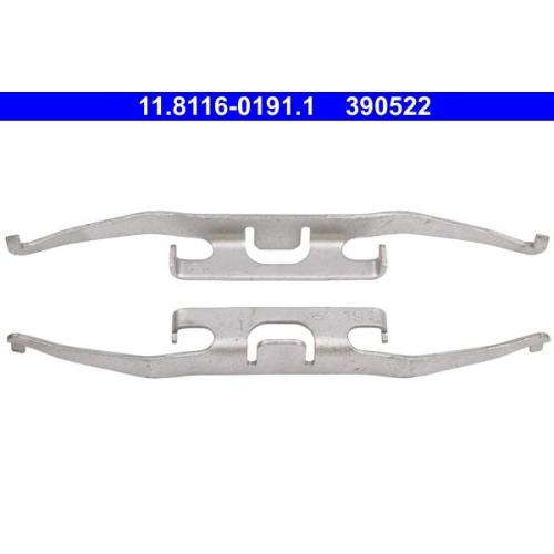 Spring, brake caliper ATE 11.8116-0191.1 MERCEDES-BENZ