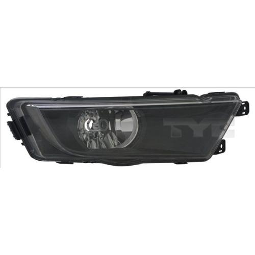 Fog Light TYC 19-12350-01-2 SKODA