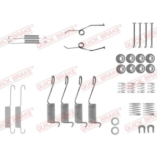 Accessory Kit, brake shoes QUICK BRAKE 105-0697
