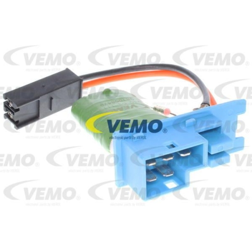 Regulator, passenger compartment fan VEMO V40-03-1113 Original VEMO Quality OPEL