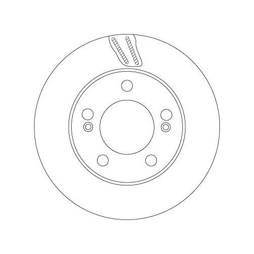 TRW Brake Disc DF6878S
