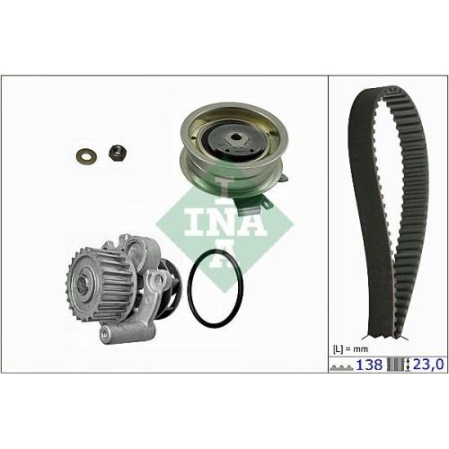 Water Pump & Timing Belt Set INA 530 0171 30 AUDI SEAT SKODA VW VW (FAW)
