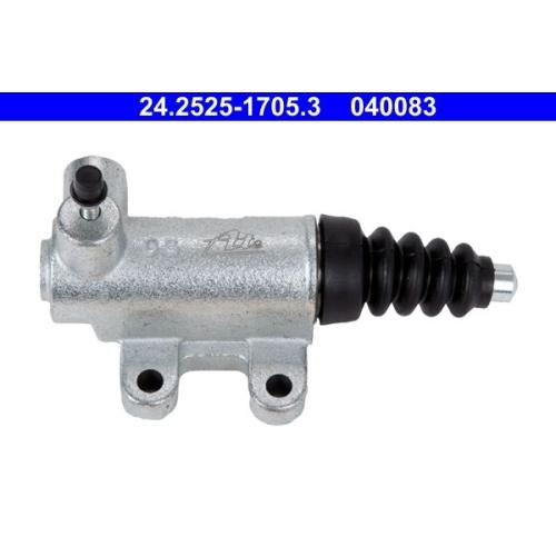 Nehmerzylinder, Kupplung ATE 24.2525-1705.3 FIAT