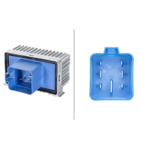 Control Unit, glow plug system HELLA 4RV 008 188-591 OPEL VAUXHALL