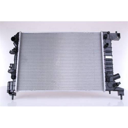 Kühler, Motorkühlung NISSENS 61678 GMC