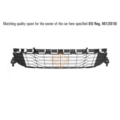 ISAM 1436710 Lüftungsgitter Stoßfänger vorne für Renault Megane III