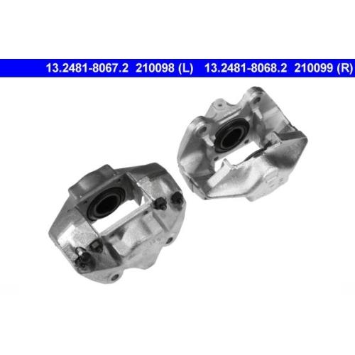 Bremssattel ATE 13.2481-8067.2 PORSCHE