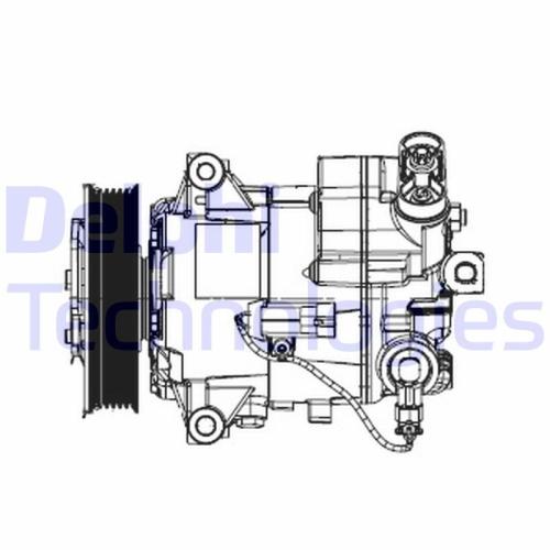 Kompressor, Klimaanlage DELPHI TSP0155948 OPEL VAUXHALL