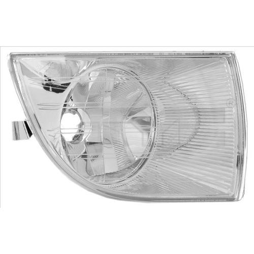Fog Light TYC 19-0665-01-2 SKODA