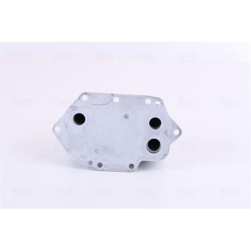 Oil Cooler, engine oil NISSENS 90905 BMW
