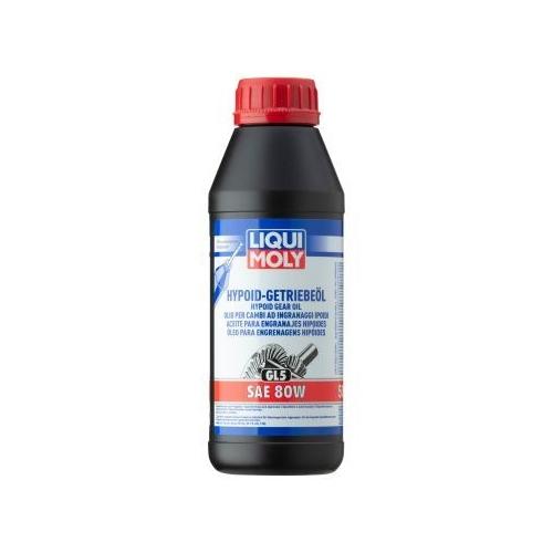 LIQUI MOLY gear oil HYPOID TRANSMISSION OIL (GL5) SAE 80W 500 ml 1402