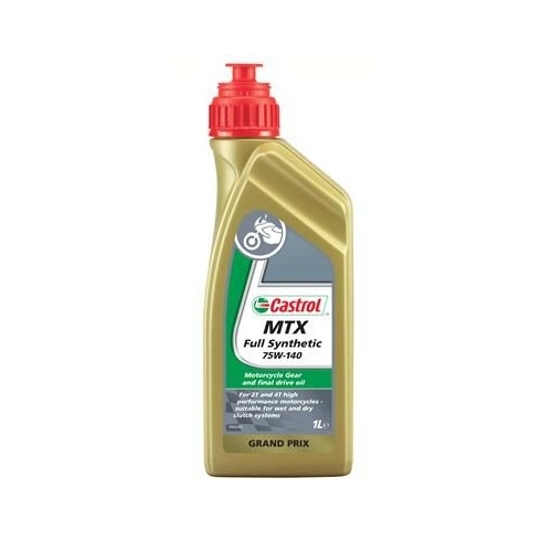 Transmission Oil CASTROL 15519A MTX Full Synthetic 75W-140