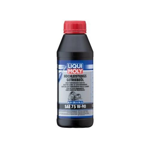 LIQUI MOLY gear oil HIGH-PERFORMANCE GEAR OIL (GL4 +) SAE 75W-90 500 ml 4433