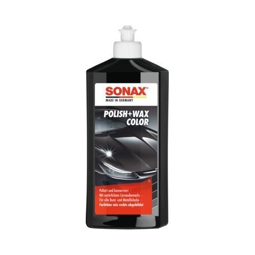 SONAX Autopolitur Polish & Wax Color NanoPro schwarz 500 ml 02961000