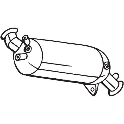 Ruß-/Partikelfilter, Abgasanlage BOSAL 095-259 VW