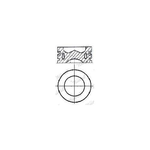 Piston NÜRAL 87-138000-10