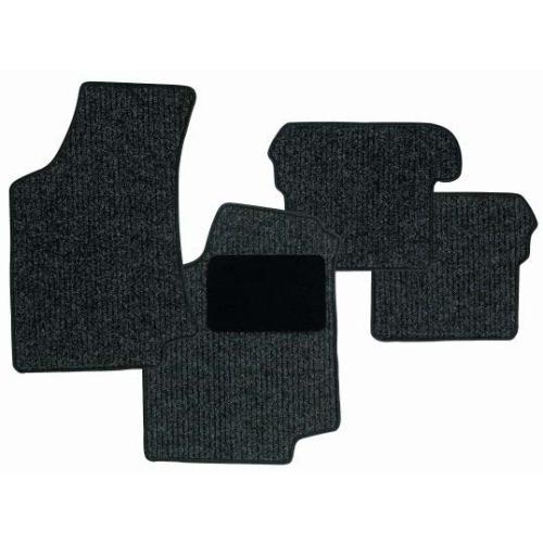 SCHOENEK 2.62945.4 Fußmattensatz Classic, Textil, 4-teilig für Renault Clio