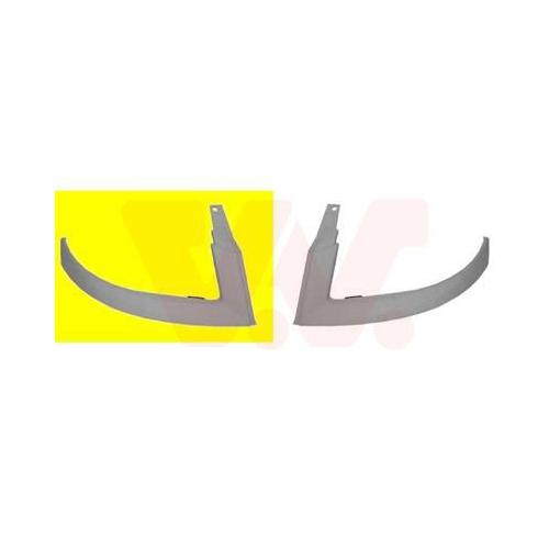 Scheinwerferleiste VAN WEZEL 1637512 ** Equipart ** FIAT