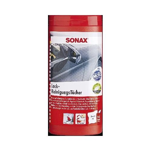 SONAX Lackreiniger Lackreiningungstücher Box 15 Stück 04124000