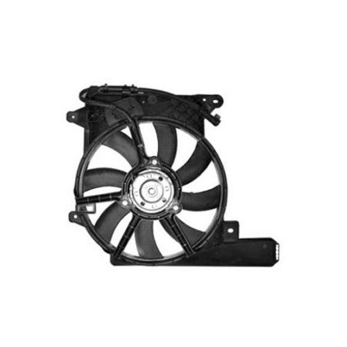 Fan, radiator VAN WEZEL 3781750 OPEL