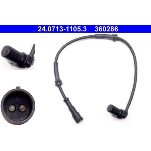 Sensor, Raddrehzahl ATE 24.0713-1105.3 RENAULT