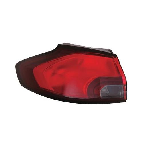 Combination Rearlight VAN WEZEL 3872931 OPEL