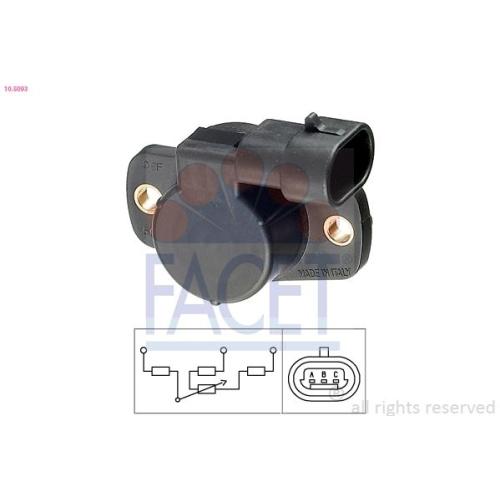 FACET Sensor, Drosselklappenstellung 10.5093