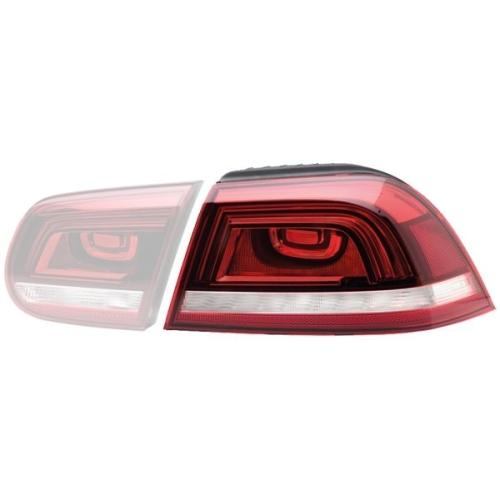 Combination Rearlight HELLA 2SD 010 697-111 AUDI VW