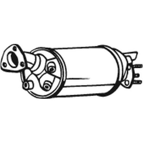 Ruß-/Partikelfilter, Abgasanlage BOSAL 095-225 AUDI