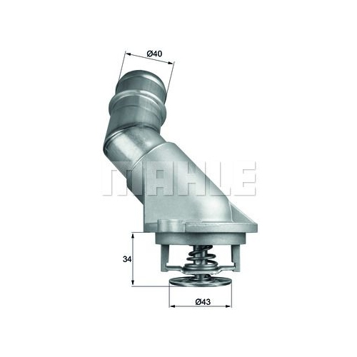 BEHR THERMOT-TRONIK Thermostat, coolant TI 211 92D