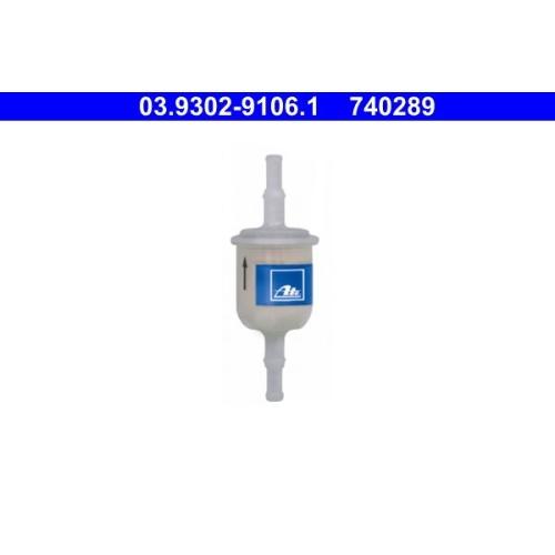 Filter, Füll-/Entlüftungsgerät (Bremshydraulik) ATE 03.9302-9106.1