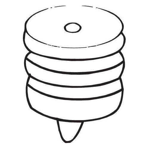 BOSAL Anschlagpuffer, Schalldämpfer 255-001