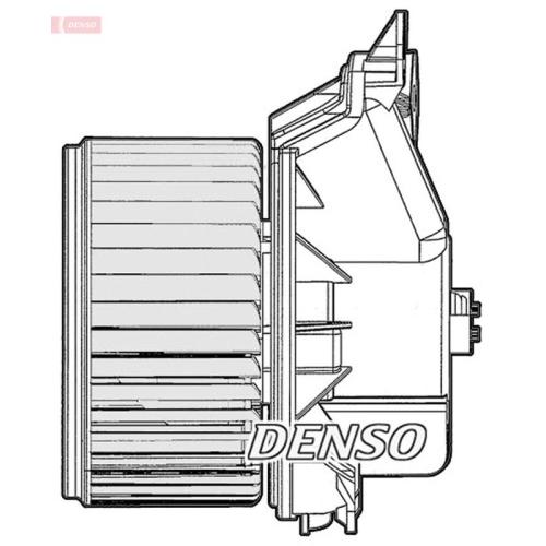 DENSO Interior Blower DEA20010
