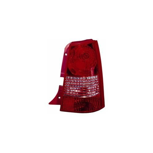 Combination Rearlight VAN WEZEL 8312932 KIA