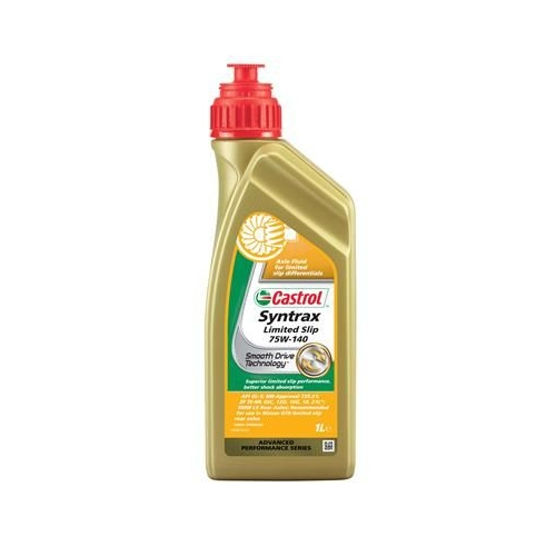 Axle Gear Oil CASTROL 1543C9 SYNTRAX LIMITED SLIP 75W-140