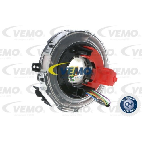 Clockspring, airbag VEMO V30-72-0752 Q+, original equipment manufacturer quality