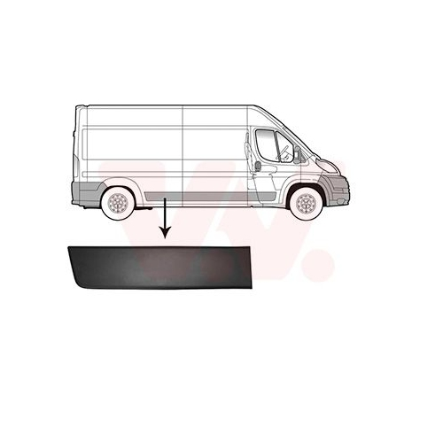 VAN WEZEL Trim/Protective Strip 0982416