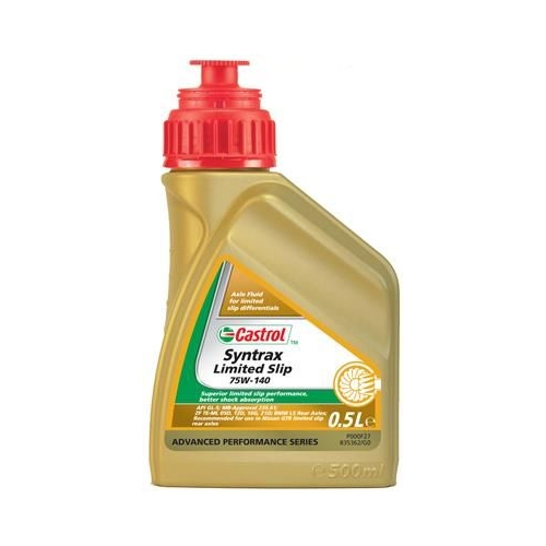 Axle Gear Oil CASTROL 159B7B SYNTRAX LIMITED SLIP 75W-140