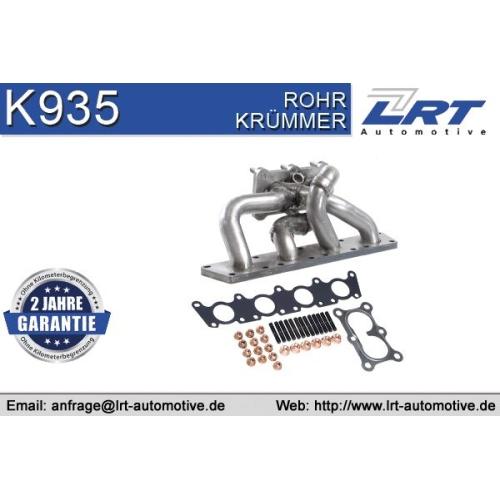LRT Krümmer, Abgasanlage K935
