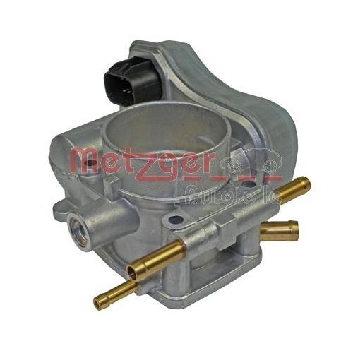 Throttle body METZGER 0892081 OE-part OPEL