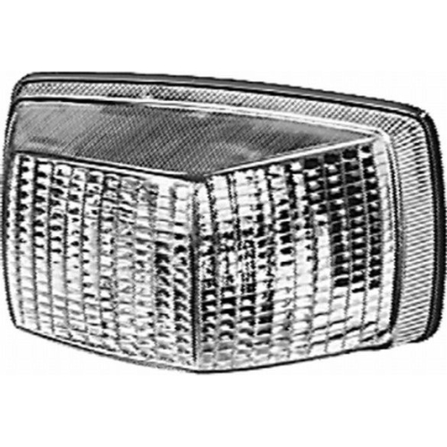 Lichtscheibe, Blinkleuchte HELLA 9EL 110 736-001 DAF IVECO MAN MERCEDES-BENZ VDL