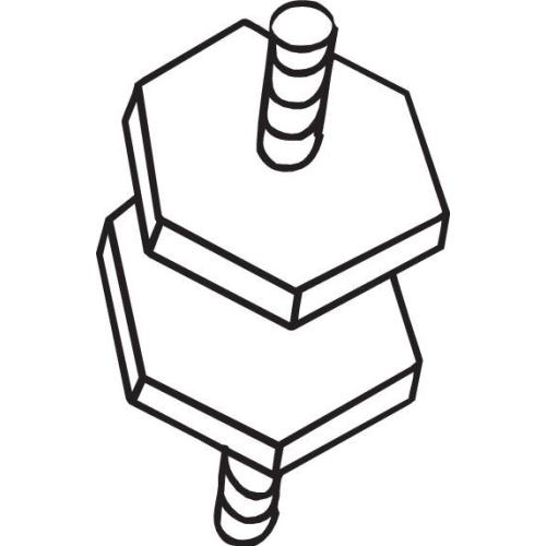 Gummistreifen, Abgasanlage BOSAL 255-330 RENAULT
