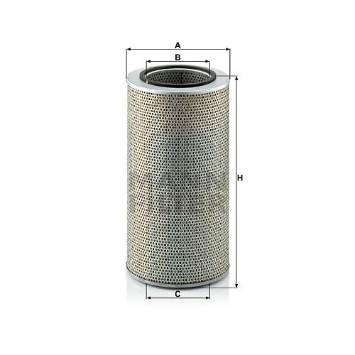 Ölfilter MANN-FILTER H 20 440 DEUTZ-FAHR