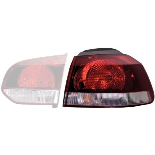 Combination Rearlight HELLA 2SD 009 922-131 VW