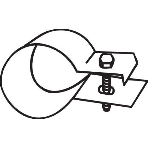 Halter, Abgasanlage BOSAL 250-550 ISUZU MERCEDES-BENZ