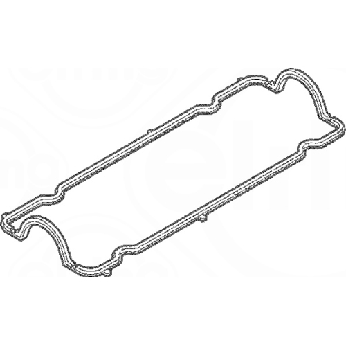 Gasket, cylinder head cover ELRING 399.570 FIAT LANCIA