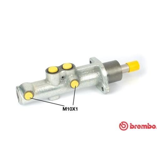 BREMBO Brake Master Cylinder M A6 013