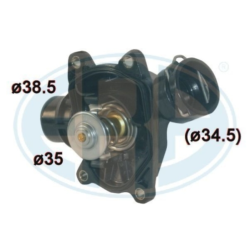Thermostat, coolant ERA 350440A BMW OPEL GENERAL MOTORS LAND ROVER