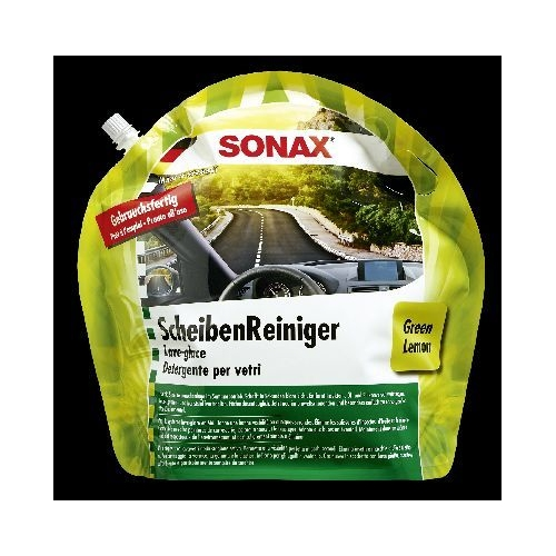 SONAX ScheibenReiniger Sommer Gebrauchsfertig Green Lemon 3 Liter 03864410