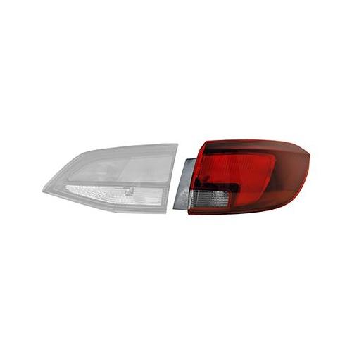 Combination Rearlight VAN WEZEL 3811932 OPEL